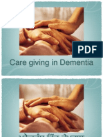 ppt for caregiver in dementia in english,hindi and punjabi