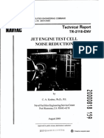 Jet Engine Test Cell Noise Reduction
