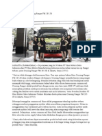 Hino Meluncurkan Cruising Ranger FM 285 JD