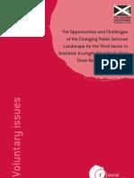 Scottish Government Third Sector Longitudinal Study - Year 3 Report