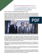 """Presentación Informe Delphi """"Visión de la crisis de la sanidad pública en España""""."""