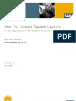 custom layouts