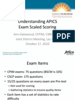 APICS scoring