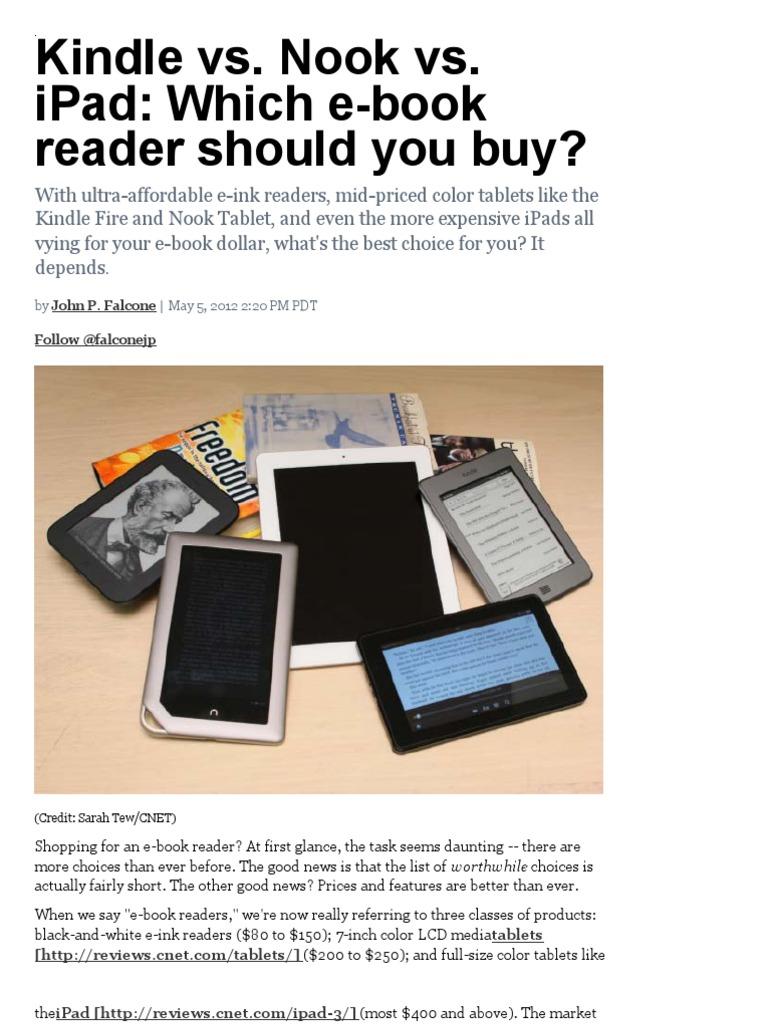 eBook Reader Choice | E Reader | Barnes & Noble Nook