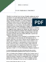 A note on Śa kara's theodicy