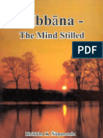 Nibbana - The Mind Stilled