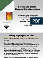 Bio Diesel Safety