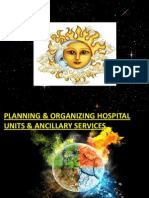 Planin n Org of Hosp Unit and Ancillary Services