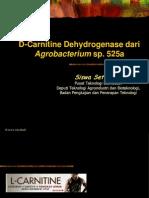 Materi Kuliah Pemanfaatan Biokimia (Carnitine Dehydrogenase)