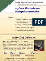 Equacoes Quimicas e Estequiometria