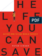 THE LIFE YOU CAN SAVE by Peter Singer (Excerpt)
