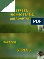 Stress, Homeostasis and Adaptation