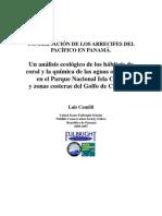 Conservacion de Los Arrecifes Del Pacifico en Panama.