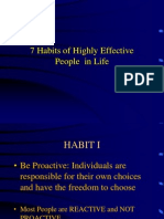 7 Habits for Highly Effective People in Life (2)