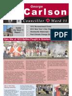 Fall 2012 Councillors Report 1