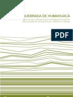 2 Al 7 Sep - Quebrada de Humahuaca
