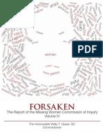 Forsaken: The Report of the Missing Women Commission of