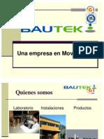 Catalogo Tecnico Bautek