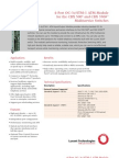 CBX 500® and CBX 3500™ Multiservice Switches 4-port oc-3c-stm-1 atm input_output (i_o) module datasheet
