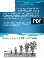 Crop Water Req