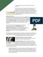 Procedimientos Para Elaboracion de Jabon Liquido