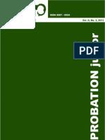 Vol. II No. 3 2011 Probation Junior