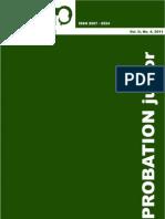 Vol. II No. 4 2011 Probation Junior
