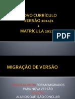 Novo Curriculo UFMG
