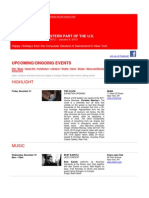 Swiss Events in New York - December 17 2012 - January 9 2013