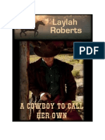 Layla Roberts - A cowboy to call her own