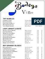 La Bodega Vino