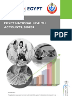 Egypt National Health financial  Accounts