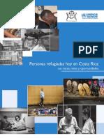 Personas Refugiadas Hoy en Costa Rica