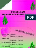 Manajemen Bisnis Pangan