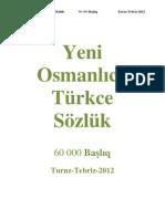 Yeni Osmanlıca-Türkçe Sözlük