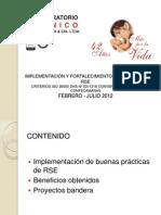 IMPLEMENTACIÓN Y FORTALECIMIENTO DE PRÁCTICAS RSE