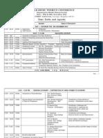 Timetable & Agenda (1)