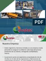 Presentacion Evatec Ingenieria y Servicios Ltda Octubre 2012