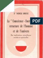 La 'Conscience - Energie', par Thérèse Brosse