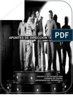 Manual de Dirección Teatral