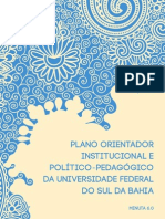 PLANO ORIENTADOR DA UNIVERSIDADE FEDERAL DO SUL DA BAHIA