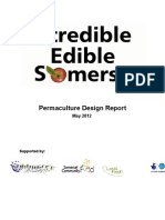 Incredible Edible Somerset Permaculture Design