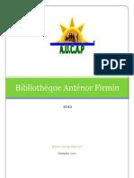 Bibliothèque Anténor Firmin...
