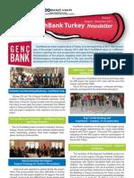 YouthBank Turkey Newsletter(August - November 2012)