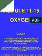 Module 11 Part 15 - Oxygen