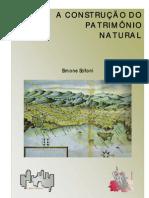 A construção do patrimônio natural