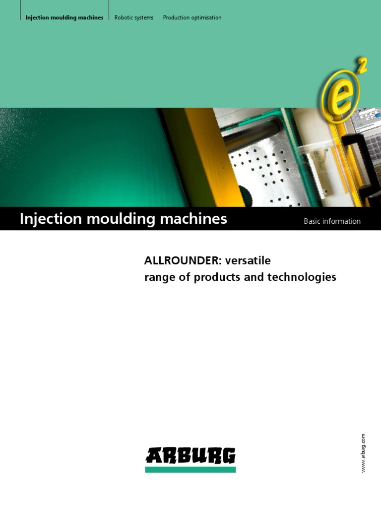 Arburg moulding machines | Automation | Machines