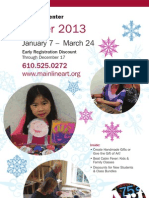 Winter 2013 Brochure