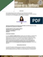 18-12-12 Reforma a los artículos 276 y 277 del reglamento del Senado de la República