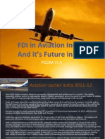 Fdi in Aviation (Im)